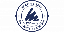 Zertifizierte Business Trainerin – TAM Akademie