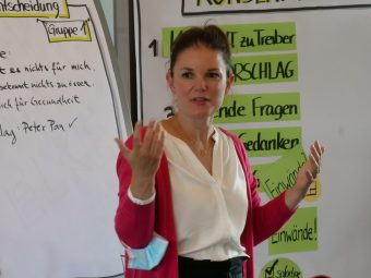 Kerstin Renner im Business Training