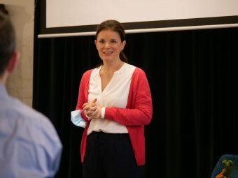 Kerstin Renner im Training