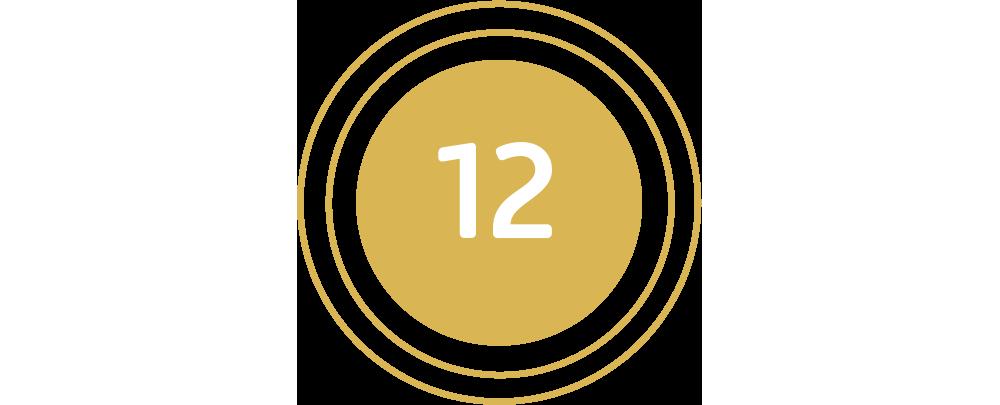 12 Teilnehmerinnen