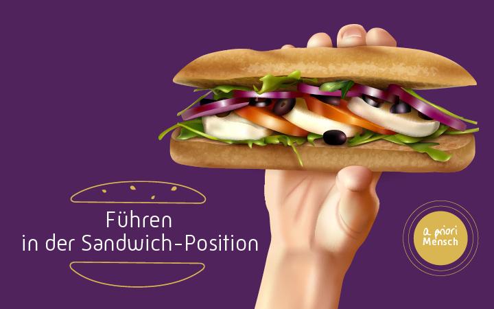 Führen in der Sandwich-Position – a priori Mensch